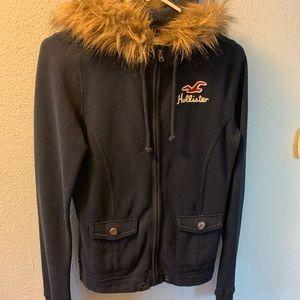 Hollister Fur Jacket